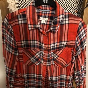 Women's Merona button up flannel